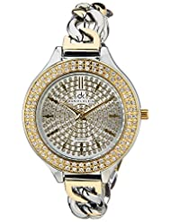 Daniel Klein Analog Silver Dial Women's Watch - DK10572-4