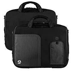 Vg Inc Tablet Messenger Bag (Black)