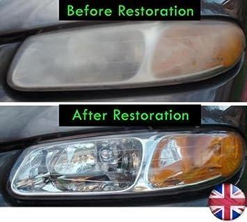 produit pour restaurer et polir les plastiques des phares 4 oz 120ml pour phare de voiture. Black Bedroom Furniture Sets. Home Design Ideas