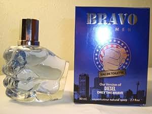 Diamond Bravo Perfume For Men 2.7 Oz Edt Version Of Diesel Only The Brave
