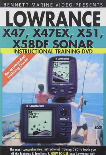 Lowrance X47 X47ex X51 X58df Sonar [DVD] [Import]