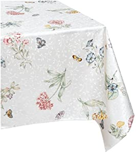 Amazon Com Lenox Butterfly Meadow 60 Inch By 102 Inch