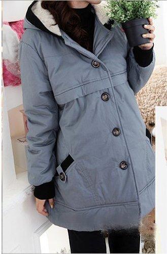 New Gorgeous Grey Maternity Coat - UK Size 10