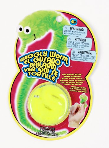 Magic Wiggly Worm, 3-Pack