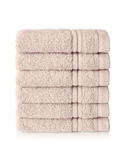Chortex Set of 6 Ultimate Wash Cloths, Barley