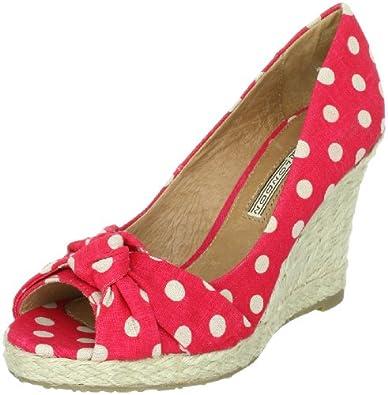 Buffalo London 311-4878 130820, Damen Sandalen/Fashion-Sandalen, Rot (RED 04), EU 38