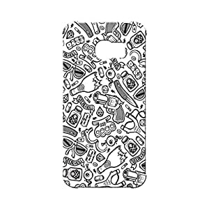 BLUEDIO Designer Printed Back case cover for Samsung Galaxy S6 Edge - G6638