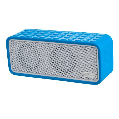 Sunbeam Rechargeable Bluetooth Conference Speaker With Microphone - Retail Packaging - Blue