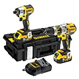 DeWalt DCK255P2-GB 18V XR Li-ion Brushless 3-Speed Combi Drill