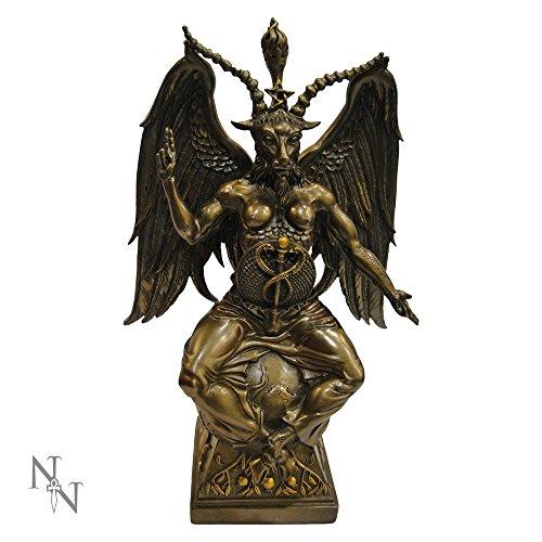 Nemesis Now-Statuetta in bronzo Baphomet Demon, 38 cm