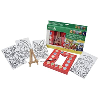 Reeves Mini Painting By Numbers Gift Set