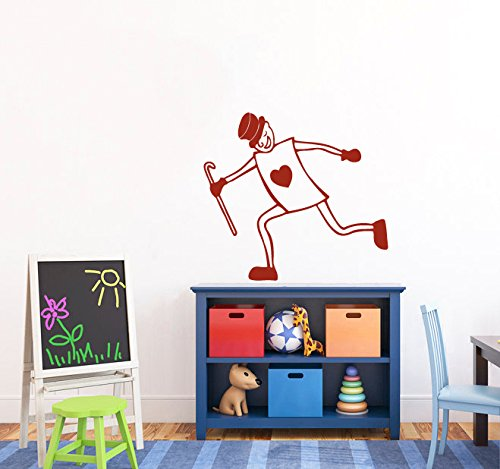 Wall Vinyl Decal Sticker Actor In A Card Costume Art Design Nursery Room Nice Picture Decor Hall Wall Ki280 front-1022012