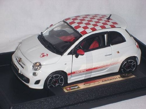 bburago fiat 500 abarth 2008 1 24 preisvergleich. Black Bedroom Furniture Sets. Home Design Ideas