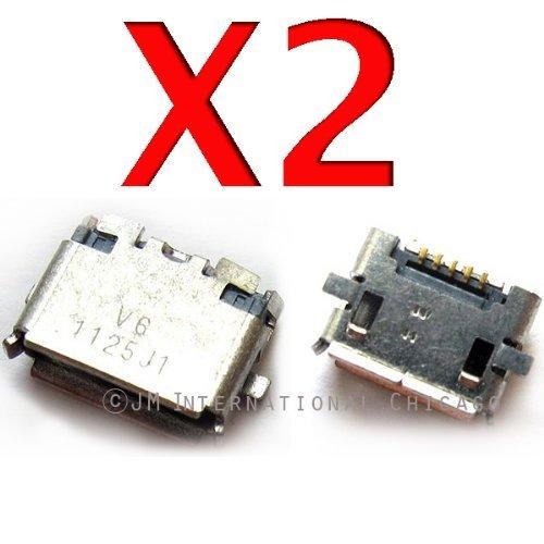 Epartsolution-2 X Nokia Lumia 822 Charging Port Dock Connector Repair Part Usa Seller