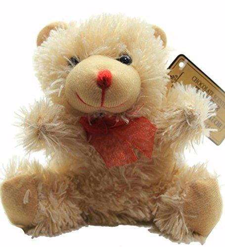 "Donaldsons Chocolate Scented Plush Bear, 7"" H, Beige"