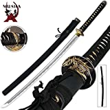 Japanese Handmade Sharp Orchid Katana Samurai Sword New