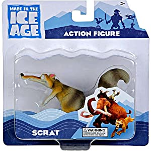 "Ice Age 2012 ""Continental Drift"". SCRAT Action Figure.: Toys & Games"