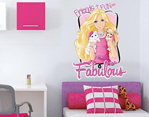 Klebefieber DS 1002-B Wandtattoo Friends + Fun = Fabulous B x H: 70cm x 99cm (erhältlich in 9 Größen) jetzt bestellen