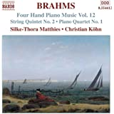 Brahms: Four-Hand Piano Music, Vol. 12