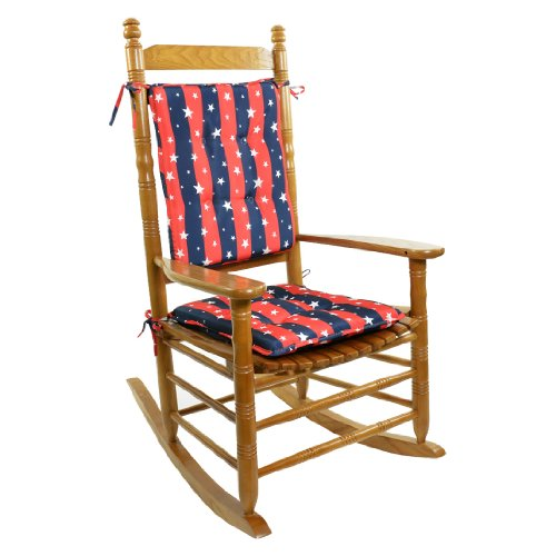 Americana Rocking Chair Cushion Set Cushions Pillows