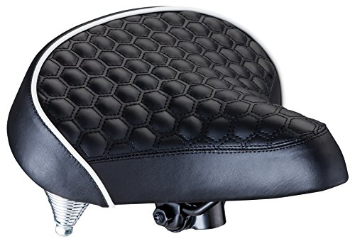 Schwinn Quilted Wide Cruiser Saddle (Most Comfortable Bicycle Seat compare prices)