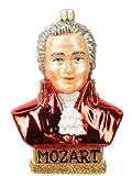 Mozart Composer Polish Mouth Blown Glass Christmas Ornament