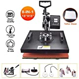 DONNGYZ Professional Rosin 3D Sublimation Heat Press Logo Transfer Machine 350W Digital Pen Heat Transfer Sublimation Machine Ballpoint Pen Heat Press for 6pcs Ballpoint Pen Crank Heated Plates