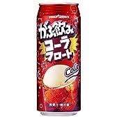 ポッカサッポロ がぶ飲みコーラフロート 500ml×24缶