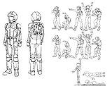 ビルダーズパーツHD 1/100 MSフィギュア01