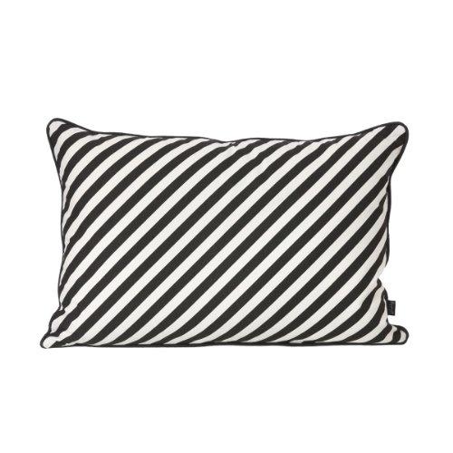 Kissen Black Stripe, 60x40cm