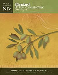 NIV Standard Lesson Commentary Large Print 2012-2013