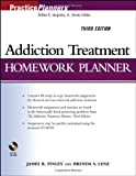 img - for Addiction Treatment Homework Planner (PracticePlanners) by Finley, James R., Lenz, Brenda S. (2006) Paperback book / textbook / text book