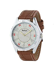 Relish Casual Tide Analogue White Men's Watch (RELISH-670)