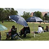 Joe Shade Portable Sports Umbrella Baseball Soccer Lacrosse BLUE