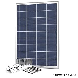 Solar Panel 110 Watt 12v Polycrystalline High Efficiency Solar Cell