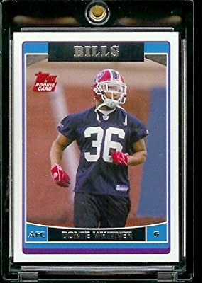 2006 Topps # 340 Donte Whitner (RC) - Rookie Card - Buffalo Bills - NFL Football Cards