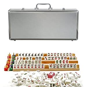 Deluxe American Mahjong in a Silver Aluminum Case