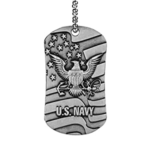 u s navy dog tag inspirational scripture