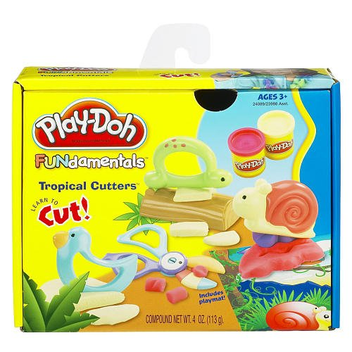 Play-Doh Fundamentals Tropical Cutters Learn to Cut