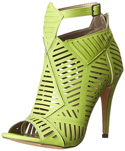 Michael Antonio Women's JYST Dress Sandal, Lime, 7.5