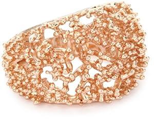 "Tuleste Market ""Always Tuleste"" 14k Rose Gold-Plated Branch Ring, Size 6"