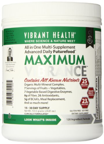 Vibrant Health Maximum Vibrance Digestive Supplement, 24.9 Ounces