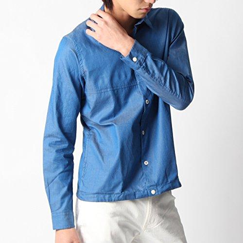 (ボイコット)BOYCOTT コットンダンガリーシャツ ブルー(092) 02(M)