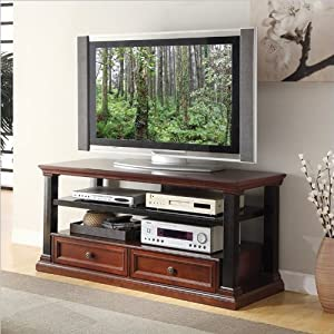 Inspired by Bassett Cappelle TV Console, Roasted Chestnut