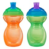 Munchkin Click Lock 2 Count Sippy Cup, 9 ounce