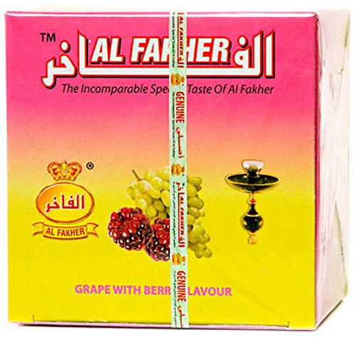 Al Fakher Grape with Berry Flavour 250g (Al Fakher Tobacco Grape compare prices)