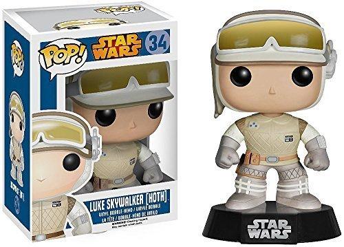Luke Skywalker [Hoth]: Funko POP! x Star Wars Vinyl Bobble-Head Figure w/ Stand - 1