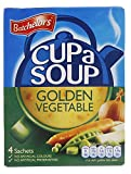 Batchelors Cup a Soup Golden Vegetable 4 Sachets 82 g (Pack of 9)
