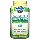 Garden of Life Raw Organic Perfect Food Capsules  240 Capsules (Packaging May Vary)