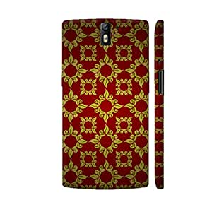 Colorpur Antique Vintage Style On Red Designer Mobile Phone Case Back Cover For OnePlus One   Artist: WonderfulDreamPicture